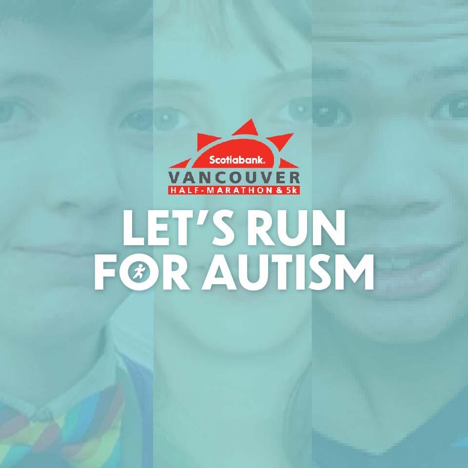 Let's Run for Autism: Scotiabank Charity Challenge Jun 2 – Jul 5
