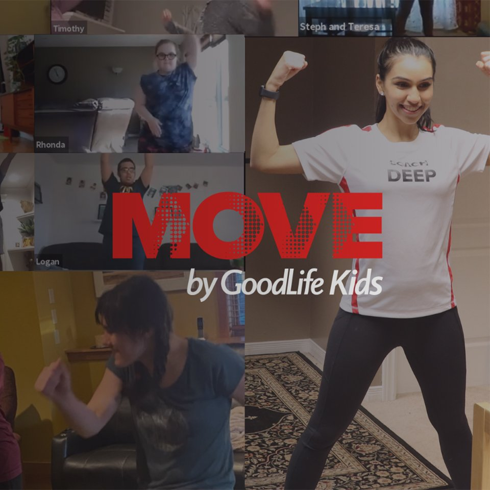 Partnerships: MOVE with AutismBC by GoodLife Kids Foundation